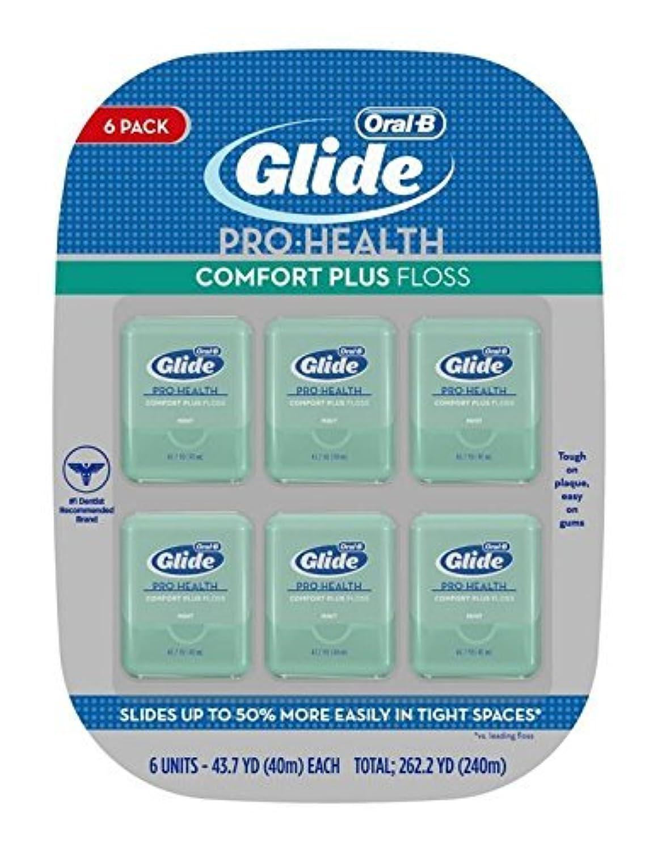 批判する虫処理Oral-B Glide - Deep Clean Floss: デンタルフロス (40m) X 6units; Total 240m 【並行輸入品】