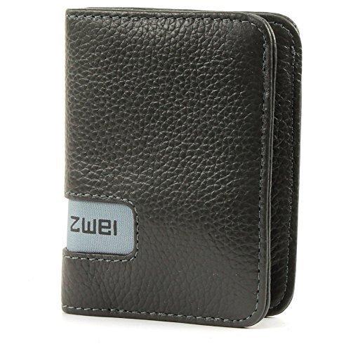 zwei Wallet W6 Geldbörse 7, 5 cm, stone by Zwei
