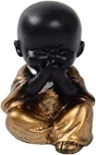 F Fityle Cute Buddha Statue Monk Figurine Creative Baby Crafts Dolls Ornaments Gift Arts and Crafts - Style04