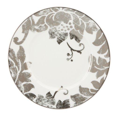 Lenox Silver Applique Salad Plate