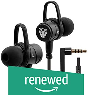 (Renewed) Ant Audio W56 Wired Metal in Ear Stereo Bass Headphone (Black)