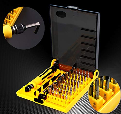 Precision 45 in 1 Professional Electron Torx Hardware Screwdriver Repair Tools Set Interchangeable Manual Set
