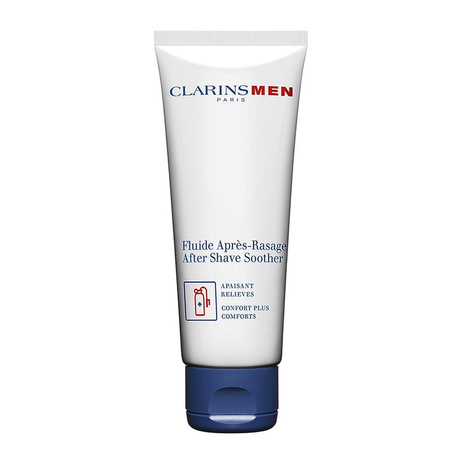 取り扱い通行料金鉄道Clarins Men After Shave Soother 75ml [並行輸入品]