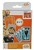 Shuffle Minions 2 Barajas de Cartas con 3 Juegos de familias, Parejas y Burro