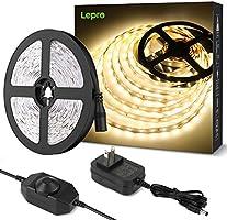 LEDテープライト 電球色 昼光色 無段階調光 間接照明 ledテープ 高演色タイプ ストリップライト 切断可能 2835SMD 高輝度 テープライト