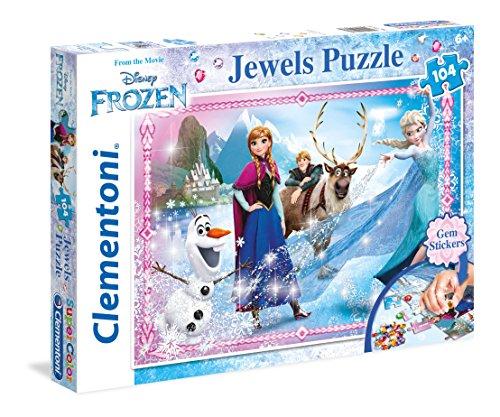 Disney Frozen   Puzzle: Joyas, 104 Piezas ( 20133)