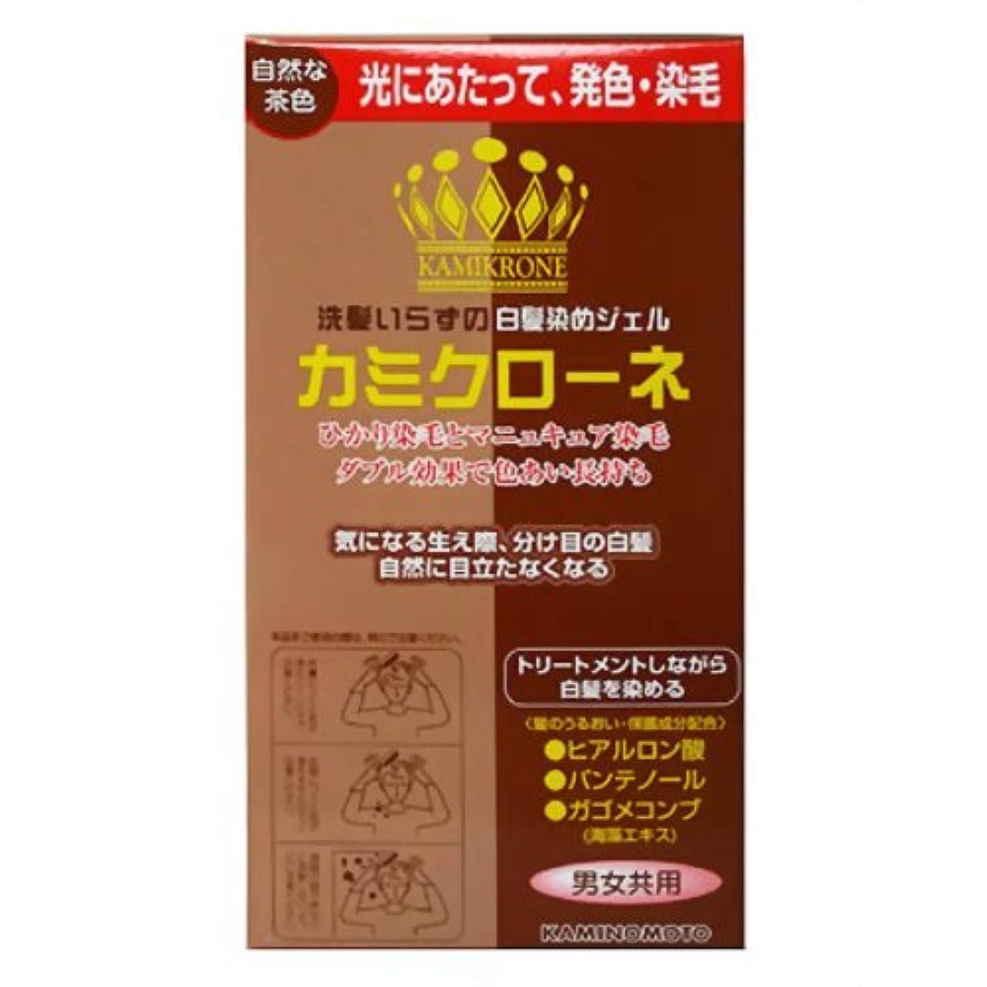 ご飯セクションメンター加美乃素 カミクローネ 自然な茶色 80ml