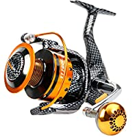 Burning Shark Fishing Reels- 12+1 BB, Light and Smooth Spinning Reels, Powerful Carbon Fiber Drag, Saltwater and Freshwater Fishing-TT2000