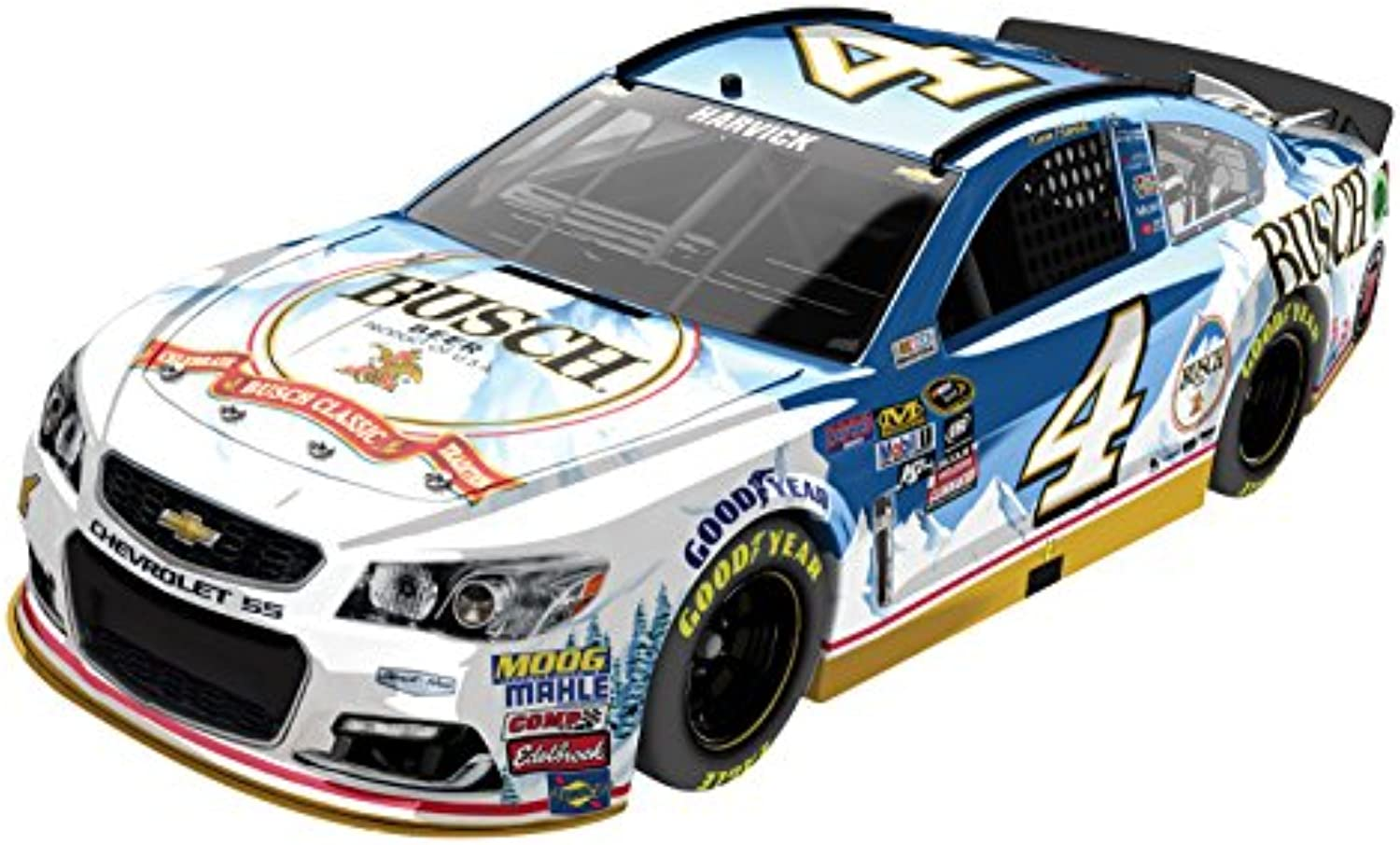Lionel Racing Kevin Harvick  4 Busch Beer 2016 Chevrolet SS NASCAR Diecast Car (1 24 Scale), Chrome