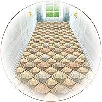 廊下敷きカーペット 幾何学的なエントランスエリアラグ、屋内寝室用の非常に長いカーペットランナー、長さ100/200/300/400/500 / 600cm (Size : 0.8×5m(31.5×196.9 in))