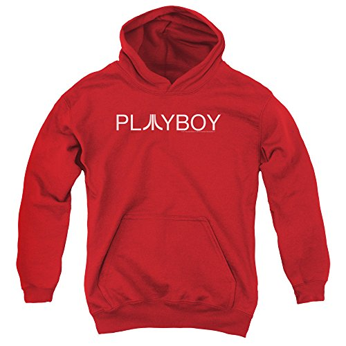 Atari - - Jugend Playboy Pullover Hoodie, Small, Red