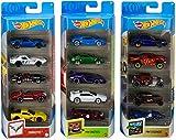 Hot Wheels Variety Fun 5 Pack Bundle of 15 1:64...