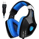 Sades AW80 USB Stereo Gaming Headset...