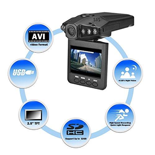 Super Legend Caméra de vidéosurveillance 1280p HD 2,5\