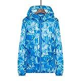 Plus Size 4XL 2019 New Jacket Women Sportswear Ultralight Breathable Print Sunscreen...
