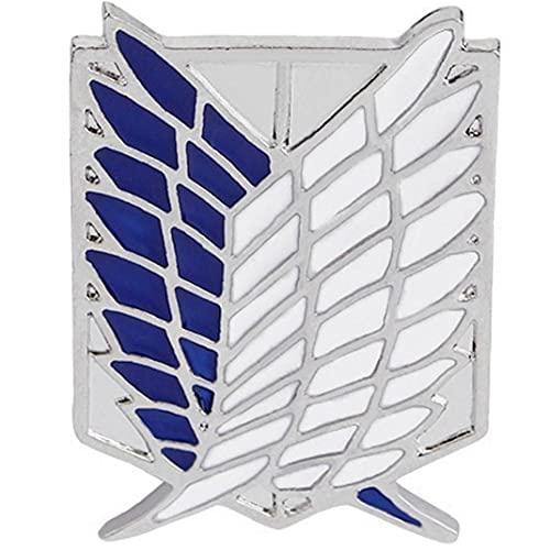 TOSSPER Ataque 1pc Gigante Broche Animado Badge Ropa Bolsa Chaqueta Accesorios DIY Crafts