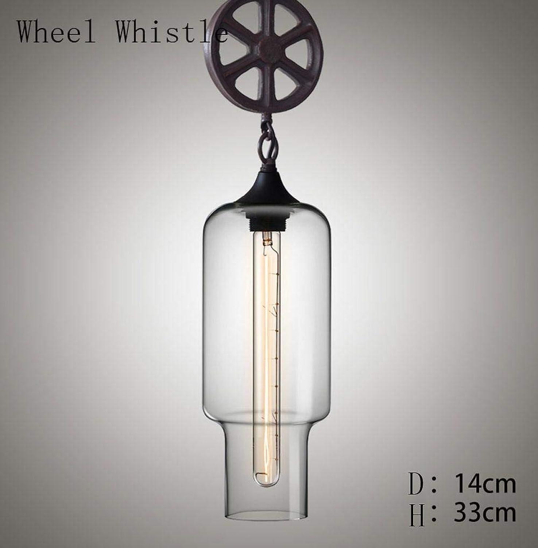 Moderne minimalistische Farbe Goldfisch Tank High Light mundgeblasenem Glas Edison Eisen Hngelampe 60 W 3 m2-5 m sup2; für Wohnzimmer Caf eacute; Bar Kronleuchter, Eisenglas, Sifflet De Roue 60.0W
