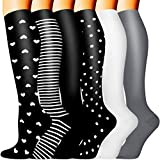 Copper Compression Socks - Compression Socks Women and Men - Best for Circulation, Medical, Running, Athletic, Nurse, Travel