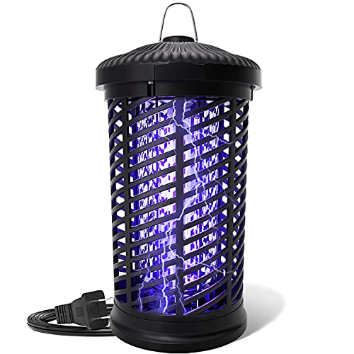 Electric Bug Zapper, Mosquito Zapper Outdoor/Indoor, 4200V Waterproof Fly Insect Trap Repellent, Mosquito Killer for Home, Patio, Backyard