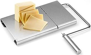 EC Kitchen バターカッター ステンレス チーズスライサー 切断ワイヤー5本付属 安全 フォアグラカッター チーズナイフ チーズカッター チーズ/バター/豆腐/フォアグラ/ケーキなどに適用 家庭用 業務用