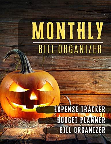 Monthly Bill Organizer: paycheck bill tracker | Weekly Expense Tracker Bill Organizer Notebook for Business or Personal Finance Planning Workbook | ... design (Financial Planner Budget Book)