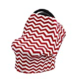 Tabpole Breastfeeding Baby Car Seat 4 in 1 Multipurpose Canopy Baby Stretchy Carriage Seat Cover Privacy