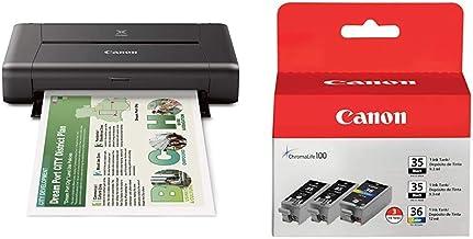 CANON PIXMA iP110 Wireless Mobile Printer and Ink Bundle