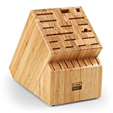 Cooks Standard Knife Storage Block, 25 slots, Bamboo