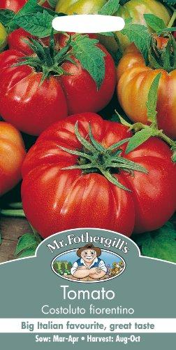 Mr. Fothergill's Beefsteak Tomato Costoluto Fiorentino Seeds