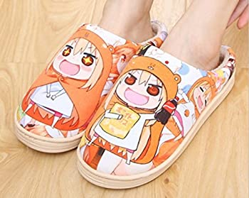 Cosplay Anime Himouto! Umaru-chan Men s/Women s Slippers Autumn and Winter Thick Home Warm Cotton Slippers/Plush Slippers/Anti-Skid Home House Slippers Fashion Travel Couples Gift Slippers