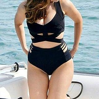 BEESCLOVER Bandage Bikini Large Plus Size 3XL Push Up Tankini high Waisted Bikini Women Swimwear Bathing Swim Suit
