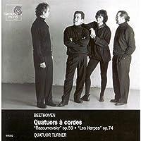 Beethoven: String Quartets/Quatuors a Cordes, Op. 59 Razoumovsky & 74 Les Harpes