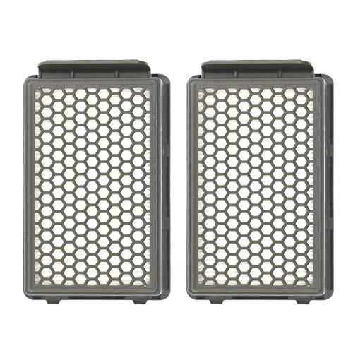 2/4 filtros para aspiradora Rowenta ZR903501 RO3715 RO3759 RO3798 (2 unidades)