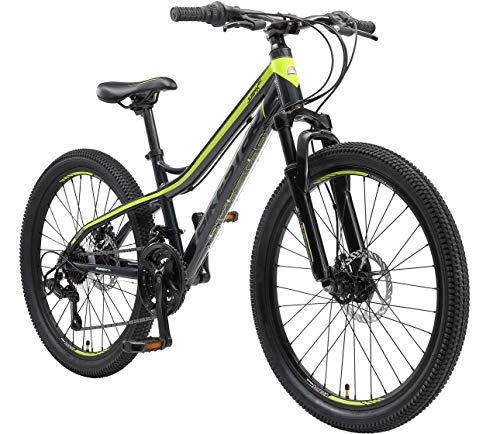 BIKESTAR Bicicleta de montaña de Aluminio 24