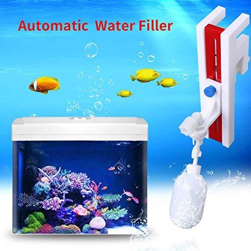 Automatische watervuller, kunststof waterniveau-regelaar met houder en drijfkogelkraan voor het vullen van water naar aquariums vistanks