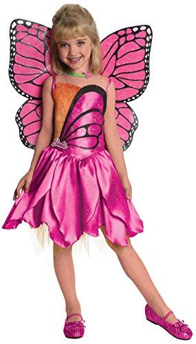 Fairytopia Mariposa and Her Butterfly Fairy Friends Deluxe Mariposa Costume, Medium