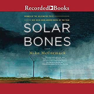 Solar Bones audiobook cover art