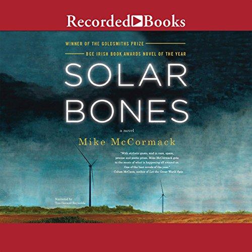 Solar Bones audiobook cover art