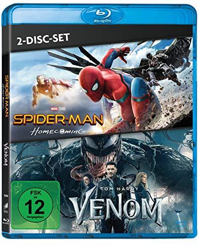 Spider-Man: Homecoming / Venom Blu-ray (2-Disc-Set)