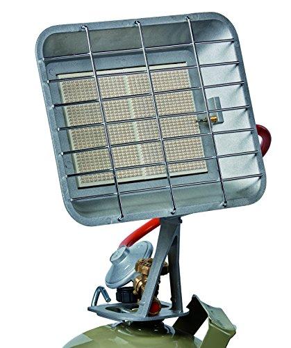 SUNTEC Quarz-Heizstrahler Heat Ray 800 Desktop geeignet, 2 Heizstufen, 800 Watt F/ür R/äume bis 45 m/³ ~19 m/²