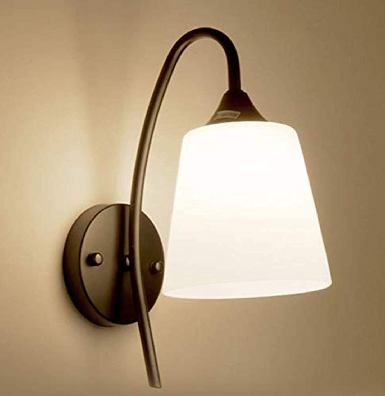 OwentsWall Lampe Nachttischlampe Schlafzimmerlampe Simple Modern Nordic Creative TV Hintergrund Wandlampe Treppenhaus Gang Flurleuchten