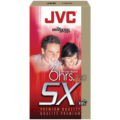 Find Discount JVC T-120DU Premium Quality Vhs Videocassettes (Discontinued by Manufacturer)