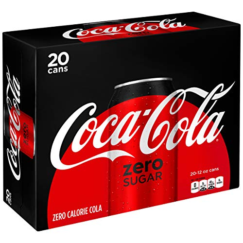 Coke Zero Sugar Diet Soda, 12 Fl Oz (pack of 20)