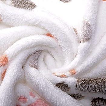 YuamMei 1pièce Mignon, Doux, Confortable Chaud pour Animal Domestique Couverture Tapis de Pattes Chiens, Chats, Animaux (beige)