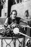 Poster Charlton Heston Ben-Hur Classic Chariot Race Scene,