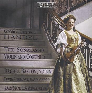 Handel: Sonatas for Violin and Continuo