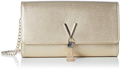 Valentino Bags Womens Divina Pochette, Gold (ORO), 4.5x12x27 cm (B x H x T)