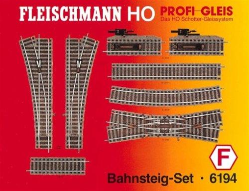 Fleischmann 6194 - Profi Gleis - Bahnsteig-Set