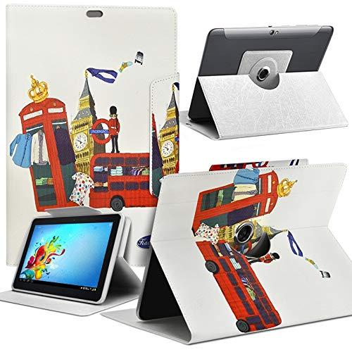 Karylax Schutzhülle Motiv MV16 Universal S für Tablet HP Pro Tablet 608 G1 8 Zoll