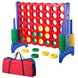 WinSpin Jumbo 4-to-Score Giant Game 4 in A Row Oversized Floor Activity for Kids Adults Family Indoor/Outdoor Games